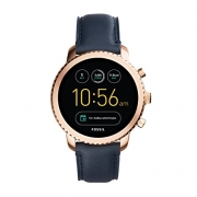 Fossil Gen 3 Smartwatch – Q Explorist Navy Leather  FTW4002
