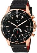Fossil Hybrid Smartwatch - Q Crewmaster Black Leather