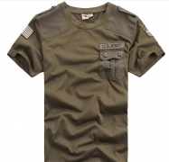 Free ship 2017 Brand Indoor Summer USA Military Desert Men Cargo Army Airborne Commando Cotton Camouflage O-neck T-shirt – mens cargo shorts usa Best Price