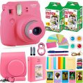 FujiFilm Instax Mini 9 Instant Camera + Fuji Instax Film (40 Sheets)...