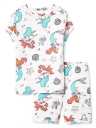 Gap Kids Girls Disney Little Mermaid Shorts Pajamas 14