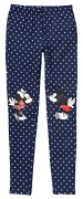 Gap Kids Girls Disney Mickey & Minnie Mouse Navy Dot Leggings Medium 8
