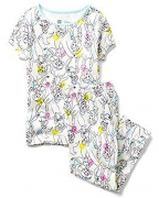 Gap Kids Girls Disney Princess Capri PJ Set 10