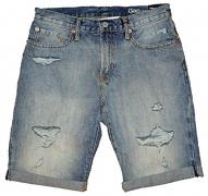 Gap Mens Blue Denim Destroy Slim Fit Shorts 31