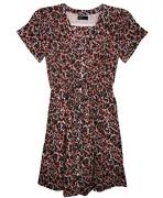 GAP Women's Multi-color Floral Above Knee Dress Size 4