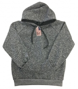 Gs-eagle Men's Tri-Blend Pullover Hoodie Large Grey
