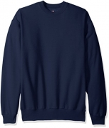 Hanes Men's Ecosmart Fleece Sweatshirt, Navy, Large – Mens Sweatshirts Best Price