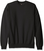 Hanes Men's Ecosmart Fleece Sweatshirt,Black,5 XL – Mens Sweatshirts Best Price
