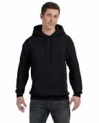 Hanes Men's Pullover EcoSmart Fleece Hoodie, Black, 4X-Large