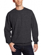 Hanes Men's Ultimate Heavyweight Fleece Sweatshirt, Charcoal Heather, Large – Mens Sweatshirts Best Price