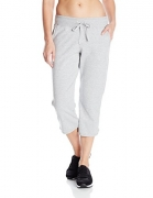 Hanes Women's French Terry Capri, Light Steel, XX-Large – Women's Capris Best Price