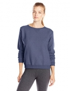 Hanes Women's V-Notch Pullover Fleece Sweatshirt, Navy Heather, Medium – Womens Sweatshirts Best Price