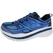 Hoka One One Mens Clifton 4 Black/White Running Shoe – 10.5 M.