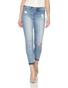 Jessica Simpson Women's Plus Size Kiss Me Ankle Skinny Jean, Amo/Balmain, 14W.