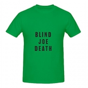 John Fahey Blind Joe Death Pop Album Cover Men Crew Neck Design Shirts Green.