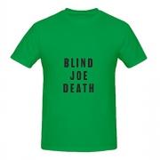 John Fahey Blind Joe Death Pop Album Cover Men Crew Neck Design Shirts Green.