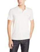 John Varvatos Star USA Men's Peace Polo, Salt, L.