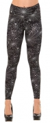 DREAGAL Active Running Pants For Women Black Spiders And Spider Web Leggings X-large.
