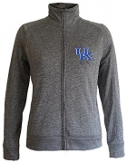 Kentucky Wildcats Women's Slim Full Zip Jacket – L – Charcoal – Womens Sweatshirts Best Price