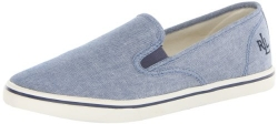 Lauren Ralph Lauren Women's Janis Fashion Sneaker,Blue,6.5 B US