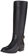 Lauren Ralph Lauren Women's Maryann Riding Boot, Black, 8.5 B US