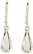 LAUREN Ralph Lauren Women's Teardrop Wire Earrings Silver One Size