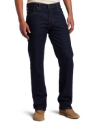 Levi's Men's 505 Regular Fit Jean, Rinse, 34×29