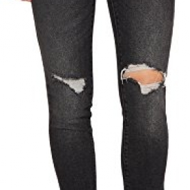 Levi's Women's 711 Skinny Jeans, Bandit Black, 24 (US 00) R.