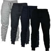 MareLight Mens Sweats Pants Constructed 80% cotton, 20% Polyester – Long Pants (Small, Charcoal)