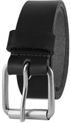 Men's Full Grain One Piece leather Belt, Roller Buckle, 1.5″ Wide, USA,black,size 42,# 7-998 – Men's Wallet Best Price