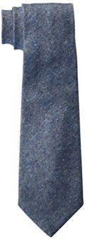 Michael Bastian Men's Slub Solid Tie, Navy, One Size