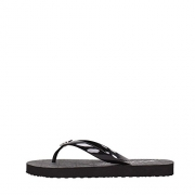Michael Kors Jet Set Rubber Flip Flops Black (8)