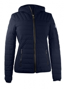 Michael Kors., Navy Chevron Quilted Packable (M)