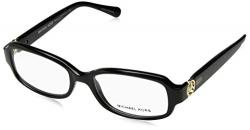 Michael Kors TABITHA V MK8016 Eyeglass Frames 3099-52 – Black/black Glitter MK8016-3099-52