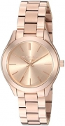 Michael Kors Women's Mini Slim Runway Rose Gold-Tone Watch MK3513