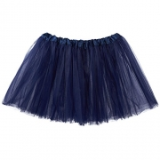 Red Hanger Womens Basic Solid Stretch Fold-Over Flare Midi Skirt (Navy-XL) – Womens Skirt Best Price