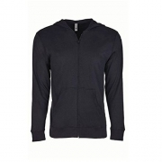 Next Level Unisex Sueded Full-Zip Hoodie XL Black – Womens Sweatshirts Best Price