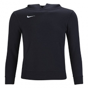 Nike Men's Club Fleece Hoodie (X-Large, Black/White)