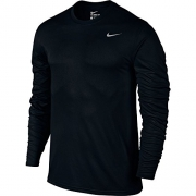 Nike Men's Dry Training Top Black/Matte Silver Size X-Large