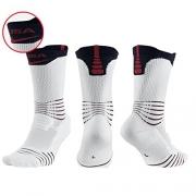 Nike Mens Elite Versatility Crew Basketball Socks – USA Olympics Edition – Large