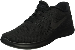 Nike Mens Free RN Running Shoes Black/Black/Anthracite 831508-002 Size 11