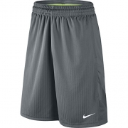 NIKE Men's Layup 2 Shorts, Cool Grey/Cool Grey/Cool Grey/White, Large