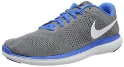 Nike Boy's Roshe Run Sneaker (GS), Dark Team Red/Wolf Grey-University Red 6.5Y