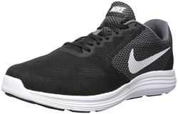 Nike Men's Flex Contact Black/White Running Shoe 10.5 Men US