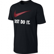 Nike Mens Dri-Fit Polyester Athletic Training Tee Shirt Large Navy.
