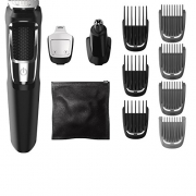 Philips Norelco Multigroom All-In-One Series 3000, 13 attachment trimmer, MG3750.