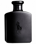 Polo Double Black by Ralph Lauren for Men, Eau De Toilette Natural Spray, 4.2 Ounce