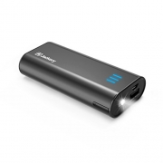 Portable Travel Charger Jackery Bar 6000mAh Pocket-sized Ultra Compact External Battery Power Bank Fast Charging Speed with Emergency Flashlight for iPhone, Samsung and Others – Orange