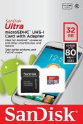 Professional Ultra SanDisk 64GB MicroSDXC card is custom formatted for high speed,...