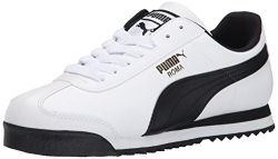 PUMA Suede Classic Sneaker,Black/White,11 M US Men's.